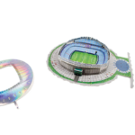 Nanostad 3D puzzle - Etihad Stadion - Manchester - Manchester City