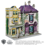 Wrebbit 3D puzzle - Harry Potter - Madam Malkin talárszabászata és Fagylaltszalon