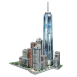 Wrebbit 3D puzzle - New York - World Trade