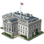 Wrebbit 3D puzzle - Fehér ház