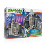Wrebbit 3D puzzle - Financial - New York