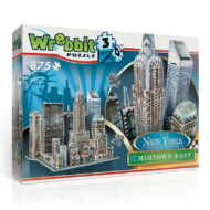 Wrebbit 3D puzzle - New York - Midtown East