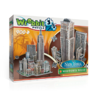 Wrebbit 3D puzzle - New York - Midtown West