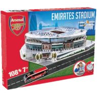 Nanostad 3D puzzle - Emirates Stadion - London - FC Arsenal