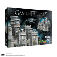 Wrebbit 3D puzzle - Trónok Harca - Deres - (Winterfell)