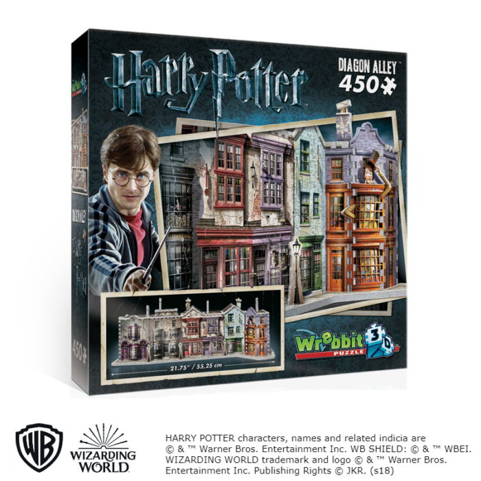Wrebbit 3D puzzle - Harry Potter - Abszol út