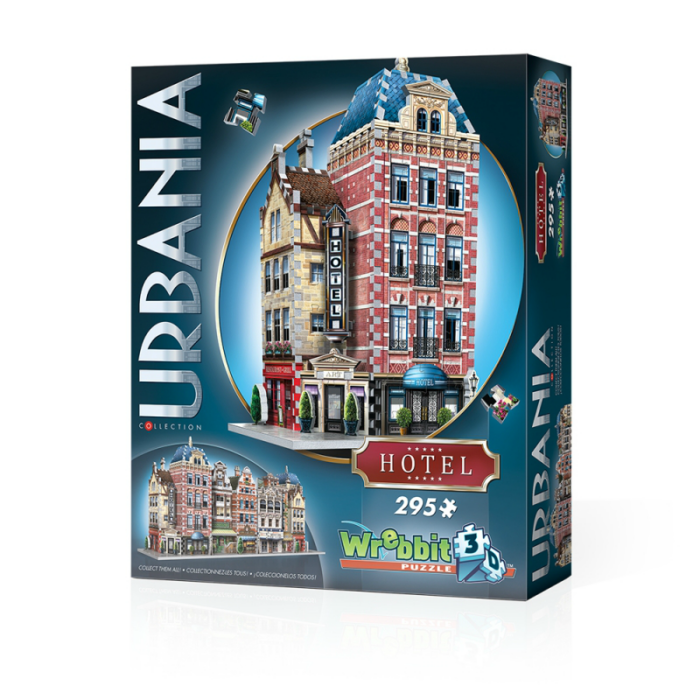 Wrebbit 3D puzzle - Hotel